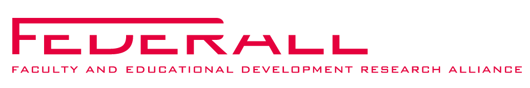 Logo Federall – Faculty and Educational Development Research Alliance